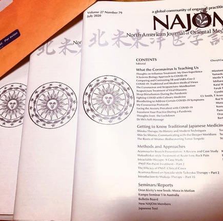 The July 2020 issue of NAJOM